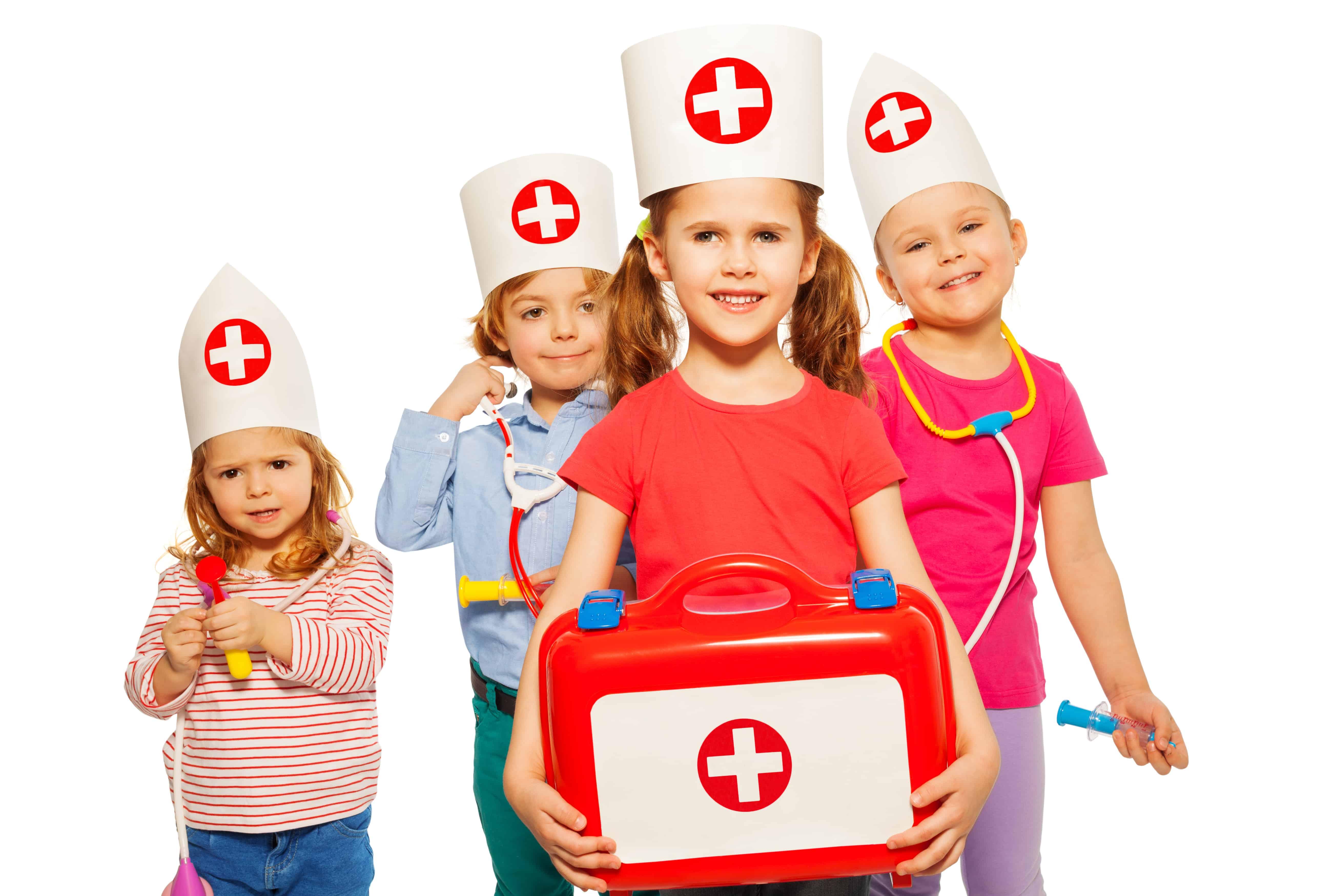 First aid children