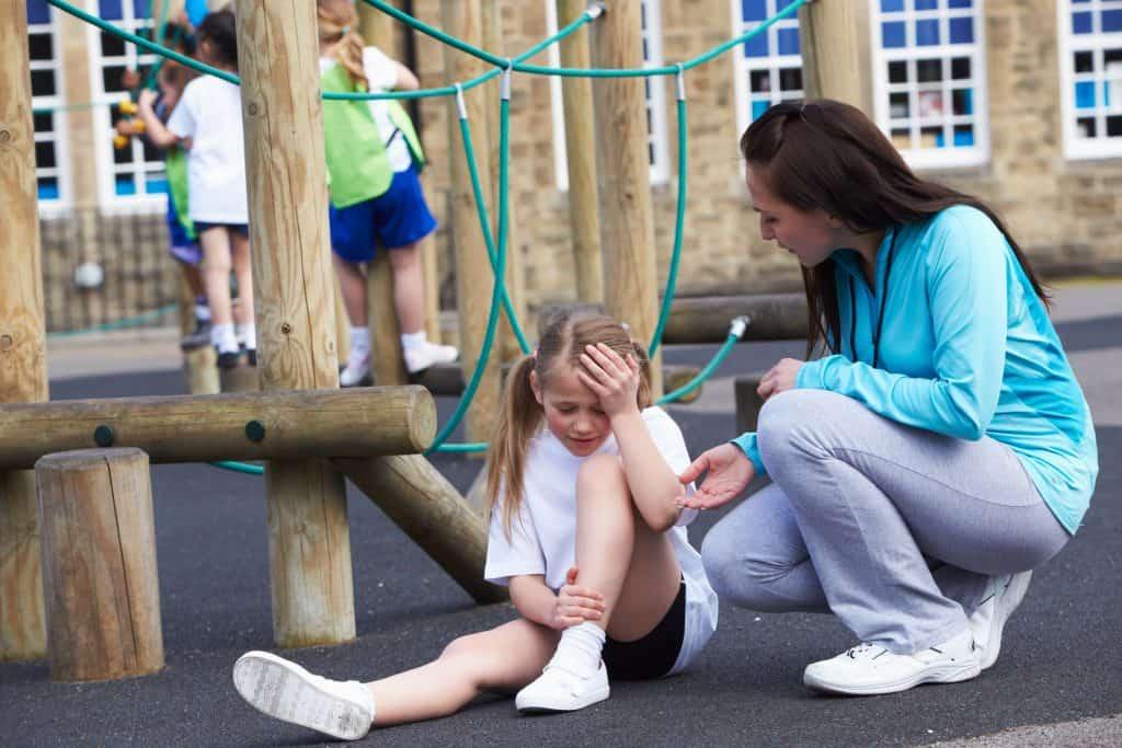 Childhood Falls from Playground Equipment.